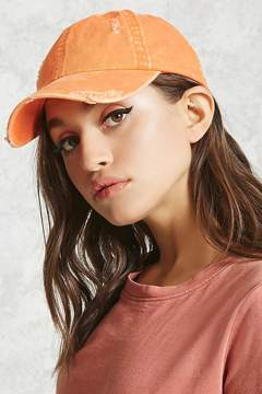 Forever 21 Distressed Baseball Cap