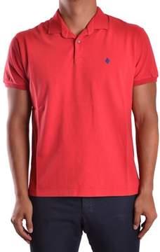 Ballantyne Men's Red Cotton Polo Shirt.