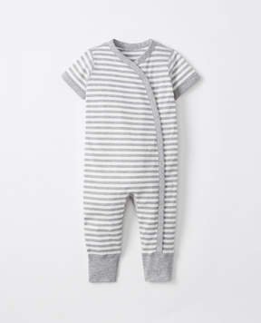 Hanna Andersson It's A Snap Romper In Organic Pima Cotton