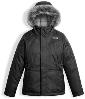 The North Face Girl's Greenland Waterproof 550-Fill Down Jacket