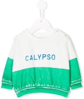 Bobo Choses Calypso colour-block sweater
