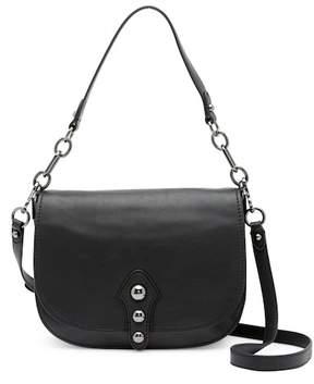 Vince Camuto Cason Flap Leather Crossbody Bag