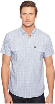Brixton Memphis Short Sleeve Woven Men's Clothing