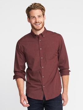 Old Navy Regular-Fit Poplin Shirt For Men