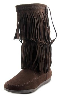 Rampage Cantrell Women Round Toe Synthetic Boot.