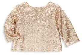 Bonpoint Toddler's, Little Girl's & Girl's Sequin Long Sleeve Top