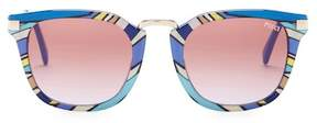 Emilio Pucci 51mm Squared Sunglasses