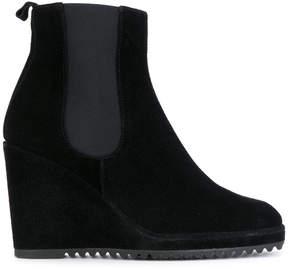 Castaner wedge heel chelsea boots