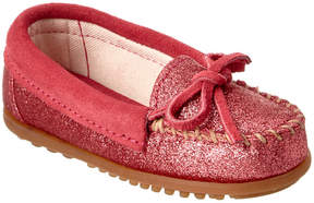 Minnetonka Girls' Moccasin Glitter Moc