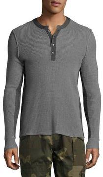 Ovadia & Sons Zack Waffle Wool Sweater