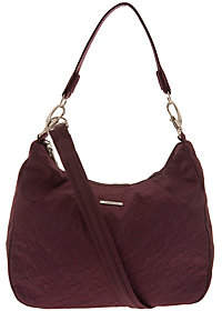 Travelon Anti-Theft Side Pocket Hobo with Double Strap