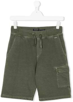 Woolrich Kids TEEN cargo pocket shorts