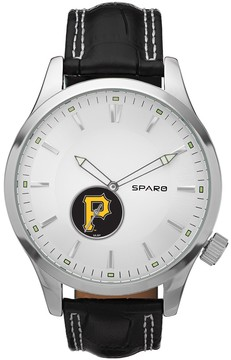 Icon Eyewear Sparo Watch - Men's Pittsburgh Pirates Leather