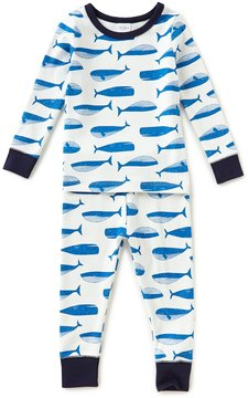 Starting Out Baby Boys 12-24 Months Whale-Print Top & Pants Pajama Set