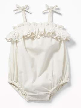 Old Navy Ruffled Bubble One-Piece for Baby