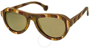 Spectrum Fanning Wood Sunglasses