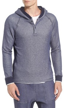 Sol Angeles Men's Roma Hooded Henley