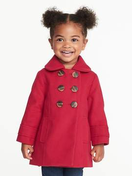 Old Navy Double-Breasted Peacoat for Toddler Girls