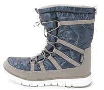 Khombu Womens Alta Closed Toe Ankle Cold Weather Boots.