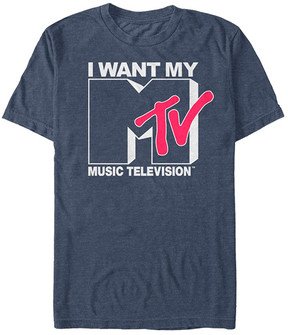 Fifth Sun Navy Heather 'I Want My Music Television' Tee - Men