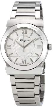 Salvatore Ferragamo Vega Silver Dial Men's Stainless Steel Watch