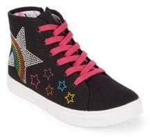 Steve Madden Girl's Star Sneakers