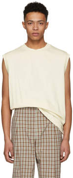 3.1 Phillip Lim Off-White Reconstructed Muscle T-Shirt