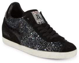 Ash Designed Leather Sneakers