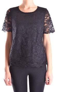 Edward Achour Paris Women's Black Cotton Top.