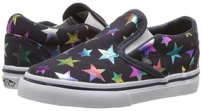 Vans Kids Classic Slip-On Parisian Night) Girls Shoes