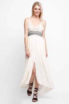 Astr Paola Hi Low Maxi Dress