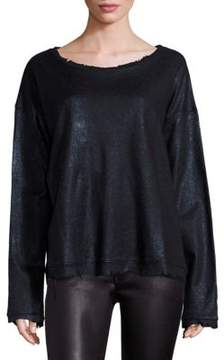 RtA Beal Distressed Long Sleeve Top