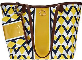 As Is C. Wonder Graphic Geo Stripe Print Large Tote Handbag