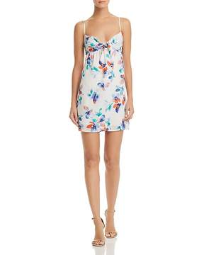 BB Dakota Marlee Floral Print Cutout Dress