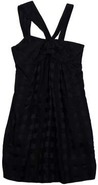 Marc by Marc Jacobs Black Checkered Sleeveless Dress - BLACK - STYLE