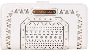 Nicole Lee Women's Anouska Braided Intricate Cut-Out Design Wallet