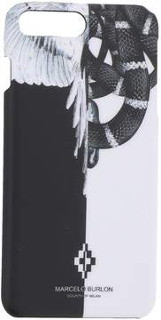 Marcelo Burlon County of Milan Iphone 7+ Snake Wing Cover