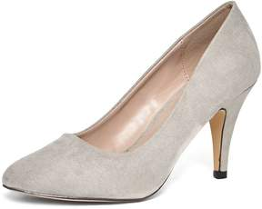 Dorothy Perkins Online Exclusive Grey 'Claudia' Court Shoes