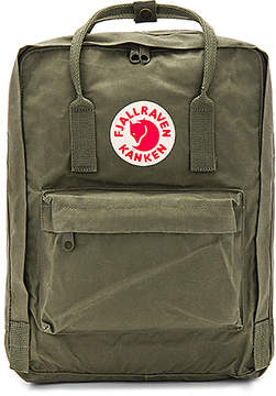 Fjallraven Kanken in Army.