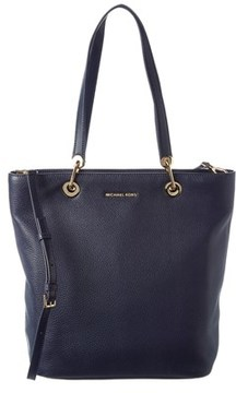 MICHAEL Michael Kors Raven Large Leather North/south Tote. - ADMIRAL - STYLE