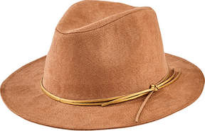 San Diego Hat Company Faux Suede Fedora CTH8072 (Women's)