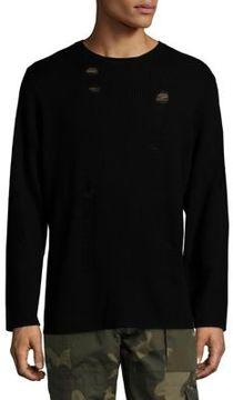 Ovadia & Sons Drop Needle Wool Sweater