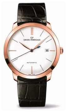 Girard Perregaux 1966 Classique Automatic Silver Dial Men's Watch