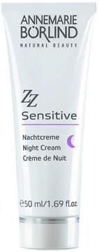 ZZ Sensitive Night Cream by Annemarie Borlind (1.7oz Cream)