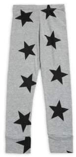 Nununu Girl's Star Cotton Leggings