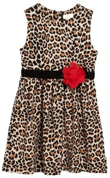 Kate Spade Girl's Leopard Print Dress