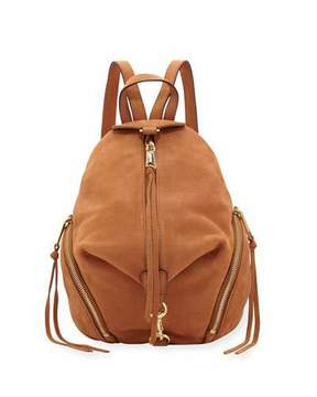 Rebecca Minkoff Julian Medium Leather Backpack - LIGHT BROWN - STYLE