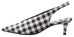 MANGO Slingback checked shoes