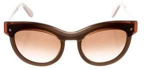 Salvatore Ferragamo Cat-Eye Gradient Sunglasses