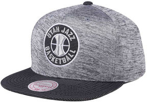 Mitchell & Ness Utah Jazz Space Knit Snapback Cap